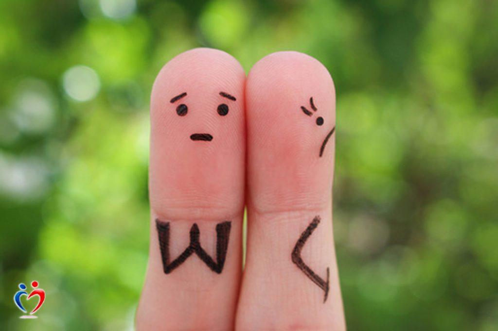 الغضب المتراكم يؤدي إلى التقليل من شأن الطرف الاخر