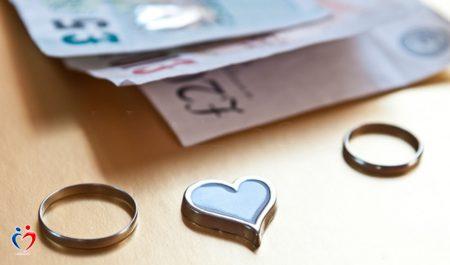 ادارة المال في علاقات الزواج