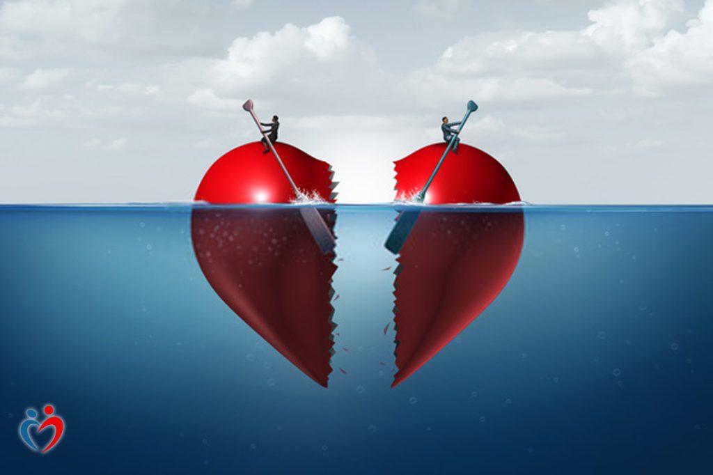 الراحة في البعد عن الطرف الآخر كخطوة في طريق الطلاق