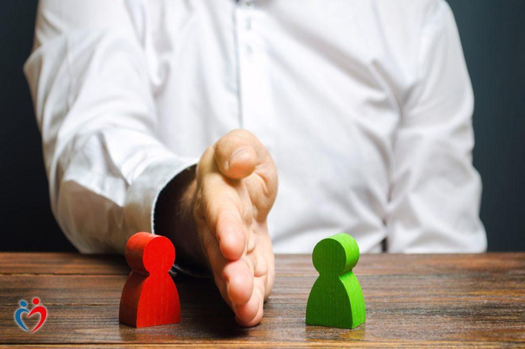 العلاقات الاعتمادية يتواجد بها مشكلات في الاقتراب والابتعاد