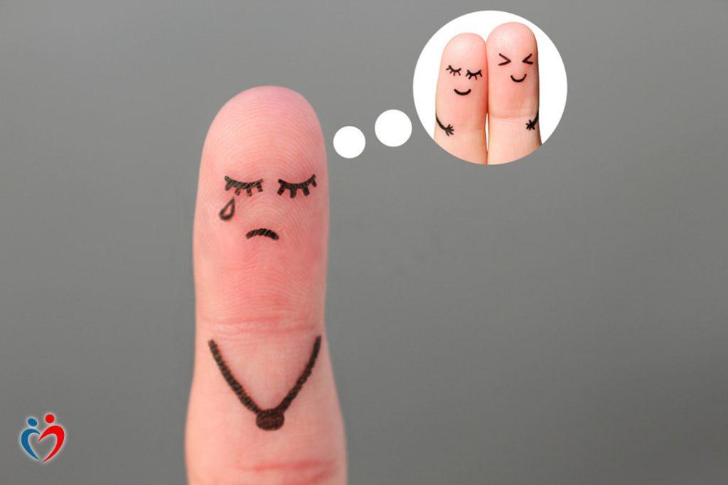 ضعف القدرة على التركيز بفعل ألم الانفصال