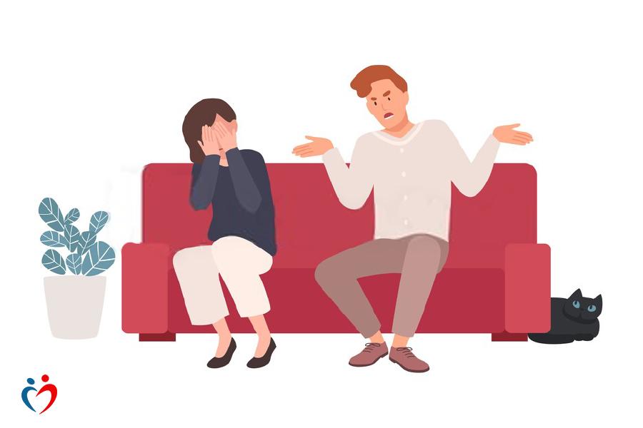 إنكار الخلافات داخل الزواج