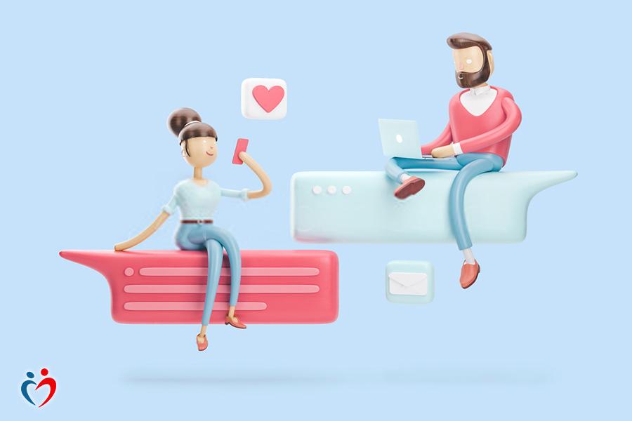 ما الذي تريده في علاقة حب عن بعد